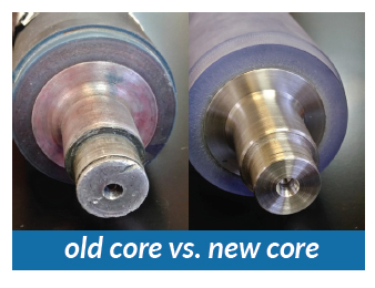 old new core